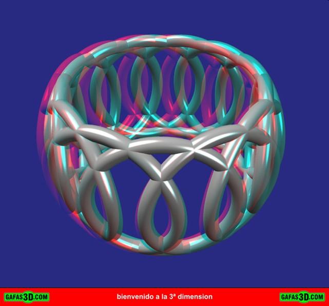 anaglifo 3d anillo
