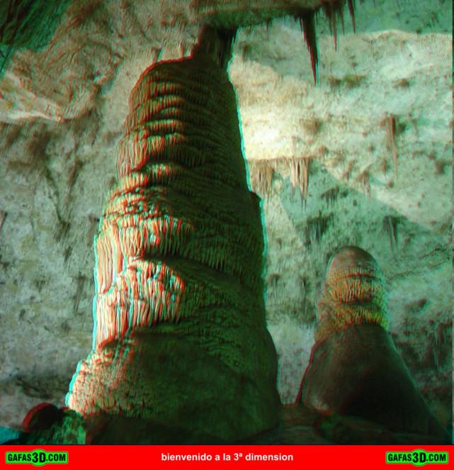 anaglifo cueva